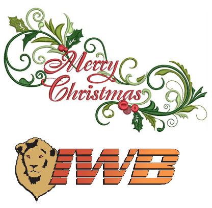 IWB Christmas Logo
