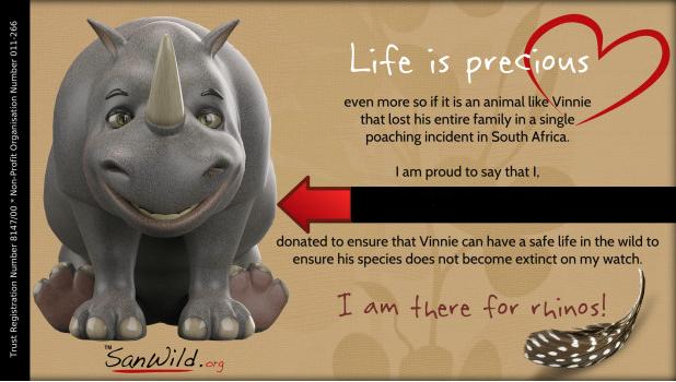 vinnie the rhino