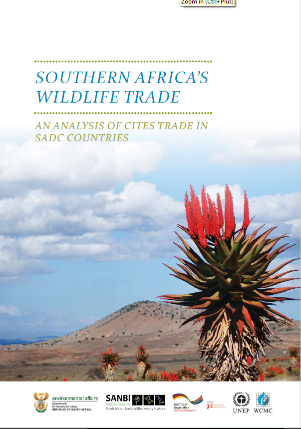 South Africa's Wildlife Trade