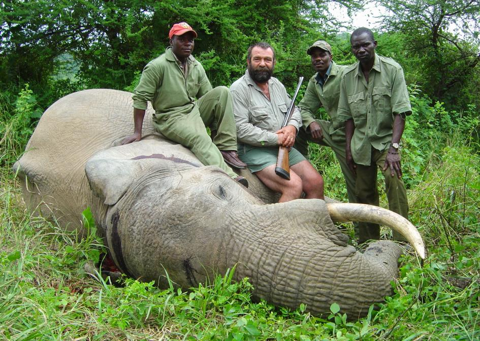 elephant trophy hunting
